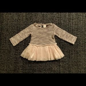 First Impressions Festive dress size 3-6m